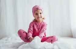 Dziecko w piżamie Fotografia Royalty Free