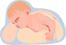 Dziecko w rękach matka ilustracja wektor