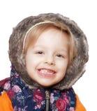 Dziecko w studiu Obraz Royalty Free