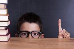 Dziecko w szkole zdjęcia stock