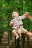 Dziecko w ukraińskim lud sukni vyshyvanka Obrazy Stock