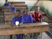 Dziecko w wieku szkolnym Tanzania Obraz Stock