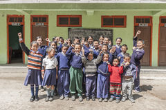 Dziecko w wieku szkolnym w India Obraz Royalty Free