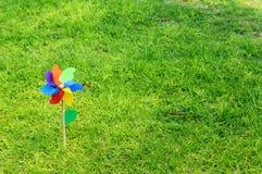 Dziecko wiatraczek obrazy royalty free