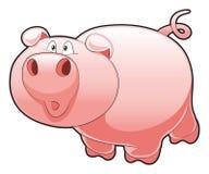 dziecko świnia Obraz Royalty Free