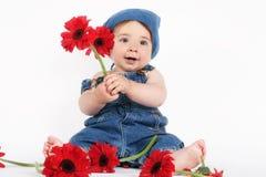 dziecko wiosna Obraz Royalty Free