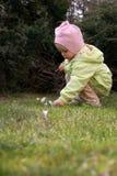 dziecko wiosna Zdjęcie Royalty Free