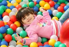 Dziecko wśród kordzików Zdjęcie Stock