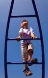 dziecko wspina się wspinać się Zdjęcie Royalty Free