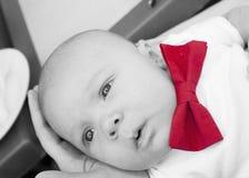 Dziecko z czerwonym baw Obrazy Stock