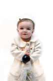 dziecko z minionej epoki Obrazy Royalty Free