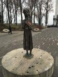 Dziecko zabytek w Kijów zdjęcie royalty free