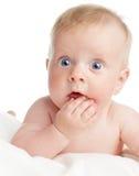 dziecko zaskakujący Zdjęcia Stock