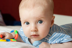 dziecko zaskakujący Obraz Stock