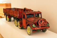 Dziecko zestaw Merkur - ciężarówka Fotografia Royalty Free