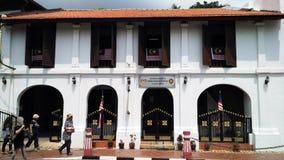 Dziedzictwo budynek w Malacca Zdjęcie Royalty Free