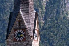 Dziedzictwo grodzki Hallstatt, Austria Obrazy Royalty Free