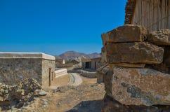 Dziedzictwo wioski ruiny Zdjęcia Royalty Free