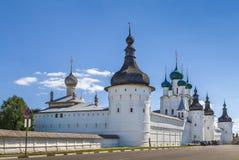dziedzictwo zawrzeć Kremlin listy rostov Russia unesco świat Zdjęcia Royalty Free