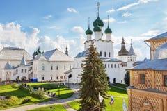 dziedzictwo zawrzeć Kremlin listy rostov Russia unesco świat Zdjęcia Stock