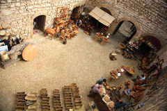 dziedziniec rynku Fotografia Royalty Free