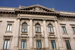 dziejowa budynek fasada Fotografia Stock