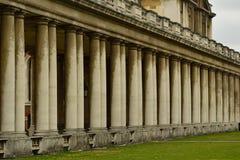 Dziejowa budynek kolumnada Obraz Royalty Free