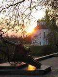 Dziejowa część Chernihiv miasto Zdjęcie Royalty Free