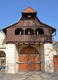 Dziejowa wejściowa brama zdjęcia stock