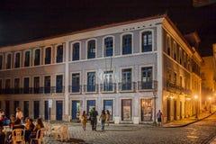 Dziejowego budynku Fasadowy Sao Luis robi Maranhao Obraz Stock