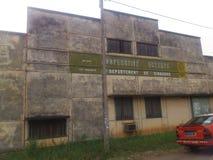 DZIEJOWI budynki miasto DIMBOKRO Obraz Royalty Free
