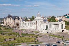 Dziejowi budynki w Kazan Zdjęcia Royalty Free