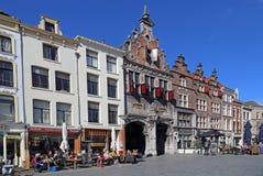 Dziejowi budynki w Nijmegen, Holandia Fotografia Royalty Free