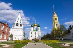 Dziejowi widoki Kolomna, Rosja Zdjęcia Stock