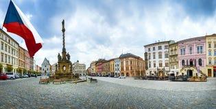 Dziejowi widoki Olomouc Obraz Royalty Free