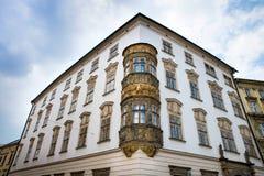 Dziejowi widoki Olomouc w republika czech Obraz Stock