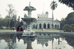 Dziejowy agi Khan pałac Pune Zdjęcia Royalty Free