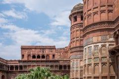 Dziejowy Agra fort, Agra Zdjęcia Royalty Free