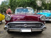 Dziejowy Amerykański samochód doskonale wznawiający obrazy royalty free