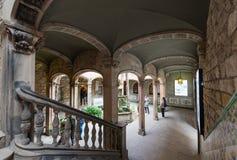Dziejowy archiwum miasto Barcelona, dziedzictwo kulturowe obrazy stock