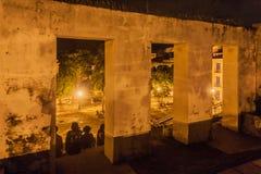 Dziejowy budynek ruin Sao Luis robi Maranhao Obrazy Royalty Free