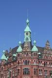 Dziejowy budynek w Hamburg Zdjęcia Stock