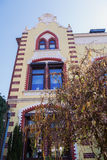 Dziejowy budynek w Heerlen, holandie obrazy stock