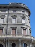 Dziejowy budynek w Mantova, Włochy Obrazy Stock