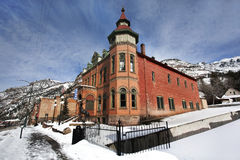 Dziejowy budynek w Ouray, Kolorado obraz stock