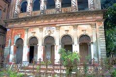 Dziejowy budynek w Panam mieście zdjęcia royalty free