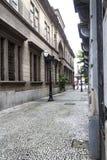 Dziejowy budynek w Santos Zdjęcia Royalty Free