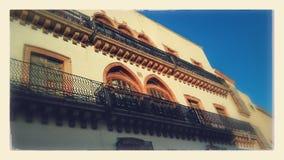 Dziejowy budynek Zacatecas miasto México zdjęcie stock
