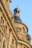 Dziejowy budynku wierza Zdjęcia Royalty Free