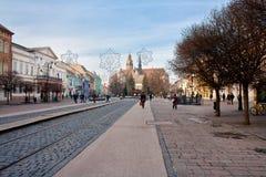 Dziejowy centrum Kosice Zdjęcia Royalty Free